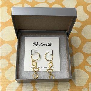 """Madewell Gold Tone 2"""" Earrings"""